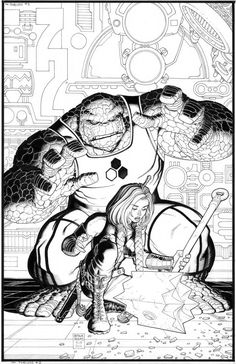 Fear Itself: The Fearless #5//Arthur Adams/A/ Comic Art Community GALLERY OF COMIC ART