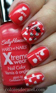 Valentine's Day Nail Art - http://yournailart.com/valentines-day-nail-art-7/ - #nails #nail_art #nails_design #nail_ ideas #nail_polish #ideas #beauty #cute #love