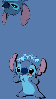 Disney Stitch, Cute Disney Wallpaper, Wallpaper Iphone Cute, Lilo And Stitch Drawings, Iphone Wallpaper Tumblr Aesthetic, Pretty Wallpapers, Baby Animals, Pop Art, Mickey Mouse
