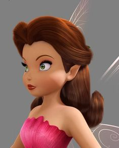 The Great Fair Rescue - CG model by Ed Shurla —Please, don't remove credit— Tinkerbell And Friends, Tinkerbell Disney, Disney Fairies, Rosetta Fairy, Modern Disney Characters, Pixie Hollow, Tinker Bell, Disney Art, Faeries