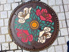 Okaya Nagano, manhole cover (長野県岡谷市のマンホール) | by MRSY