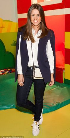 Playtime: Brooke Vincent, 23, turned out to support LEGO's latest project: an immersive 12...