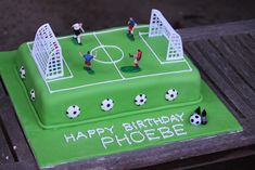 soccer pitch birthday cake | My daughter wanted a soccer cak… | Flickr