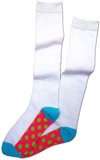 Uniform Mom: Code Socks- fun socks for kids that wear school un...