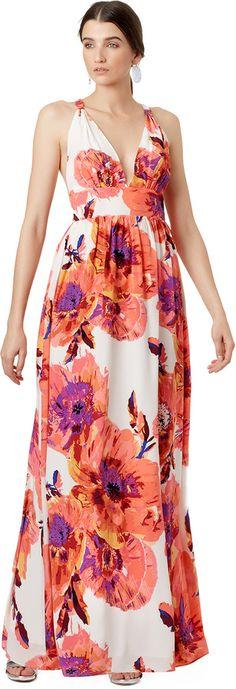 Yumi Kim Floral Cabo Maxi Dress
