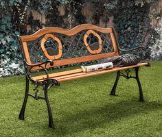 Trumpeter Outdoor Garden Bench