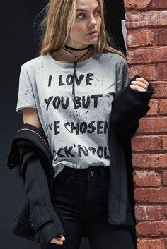 28db2ebd33 Camiseta Estampa Rock - Comprar em SHOP COLCCI Estampas