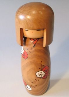 Big, bold and beautiful Kokeshi doll with cherry blossom design Ask a Question $60.00