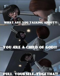 Edna Mode... She's just great