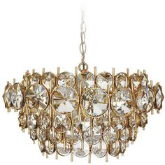 Large Sciolari Chandelier | From a unique collection of antique and modern chandeliers and pendants at…