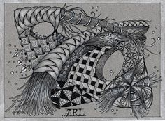 Zentangle-Ann Renee Lighter