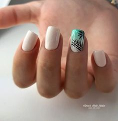 Nail Art Designs and Colors for Summer Summer Acrylic Nails, Best Acrylic Nails, Acrylic Nail Designs, Summer Nails, Pretty Nail Art, Dream Nails, Nagel Gel, Square Nails, Stylish Nails