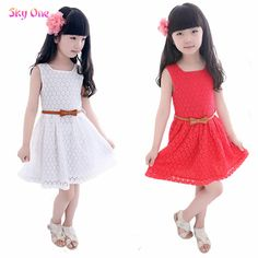 Cheap Dresses, Buy Directly from China Suppliers: Brand new children's clothing dresses girls clothes summer dress lace collage plaid cotton plus size cute plaid d
