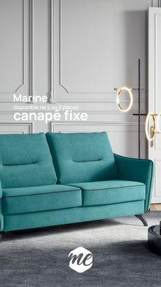 Faîtes rejaillir les couleurs dans votre salon pour donne run peu de beaume au coeur. Sont look très contemporain et ses lignes feront de ce modèle un modèle incontournable pour les amoureux du design. Color Change, Couch, Furniture, Design, Home Decor, Big Couch, Pants, Forearm Stand, 3 Seater Sofa