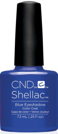 CND SHELLAC UV GEL COAT NAIL POLISH New Shades 2017 BLUE EYESHADOW. CND Shellac Nail Polish is a complete power nail polish which is a part of the Shellac Power Polish System. The second after getting Shellac Nail Polish from a professional technician your fingernails are ready to go. What else you need to know: Never ever again must you be worried about your nails chipping while looking for your car keys, your cell phone, or even just opening up a door. Shellac features a absolutely zero…