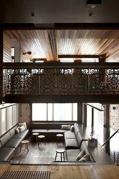 Kinda cool, pit lounge