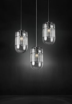 Products 2015 - Giada - Suspension lamp / Hanging pendant - Pure glass handmade - Suitable also for vintage lamps - Beautiful and elegant for interior - Design by ILIDE (www.ilide.it)