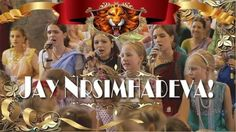 Beautiful rendition of Lord Nrsimhadeva's mantra from the younger generation of devotees of ISKCON Kiev, Ukraine (7 min video) Watch it here:
