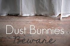 Dust Bunnies, Beware