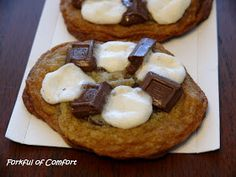 Forkful of Comfort: S'mores Cookies
