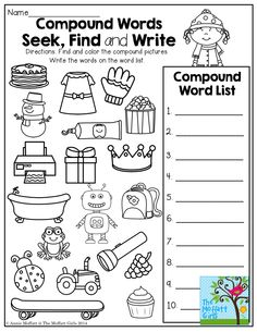 Compound words grade 5 quiz