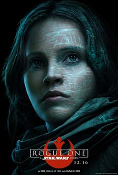 Rogue One Character Posters - Jyn Erso