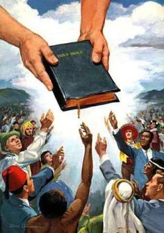 The Bible is like a map. Mankind is lost without it. We need direction from Jehovah to direct out step.