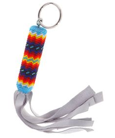 Free Native American Beading Patterns | Cut Beaded Key Chain (Native American) | Overstock.com