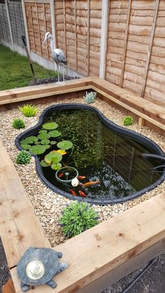 Above Ground Koi Pond 15 Mesmerizing Ideas to Decorate Your Exterior RecipeGood Patio Pond, Diy Pond, Backyard Landscaping, Backyard Ponds, Landscaping Ideas, Pergola Ideas, Garden Yard Ideas, Garden Projects, Above Ground Pond
