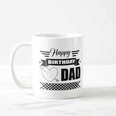 Mug Happy Birthday Dad Gift mother day gifts, homemade fathers day gifts diy, mothers day gifts mom Homemade Fathers Day Gifts, Diy Gifts For Men, Diy Father's Day Gifts, Father's Day Diy, Gifts For Dad, Fathers Day Shirts, Happy Fathers Day, Mother Day Gifts, Happy Birthday Daddy