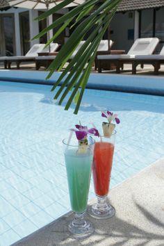 Enjoy cocktails poolside at Club med Phuket