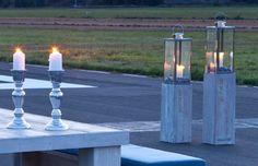Die klar designten Laternen sind ein Blickfang auf jeder Terrasse. Durch den Einsatz von rostfreiem Edelstahl und bruchsicherem Glas ist das Laternenset bestens für die Verwendung im Außenbereich geeignet.