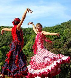 flamenco dresses...