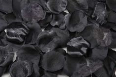 The Black Rose Petals come in counts of 100 that are each in length and wide. The Black Rose Petals are perfect for decorations at weddings, birthdays, an Aisle Runner Wedding, Wedding Reception Tables, Wedding Ceremonies, Silk Rose Petals, Flower Petals, Victoria Lynn, 1 Gif, Satin Roses, Flower Girl Basket