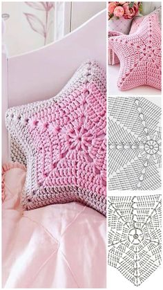 Excellent Absolutely Free Crochet pillow with words Suggestions Very Beautiful 😍 – Crochet Free Pattern – Crochet Diy, Blog Crochet, Crochet Motifs, Crochet Home, Crochet Stitches, Crochet Ideas, Crochet Cushions, Crochet Pillow, Blanket Crochet