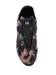 Dior Homme кроссовки с рисунком