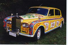 John Lennon's hand painted Rolls Royce Phantom V was sold to Canadian businessman Jim Pattison in 1985 for $2.23 million.