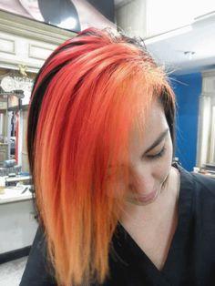 arte capilar   art hair styling  yulieth mejia