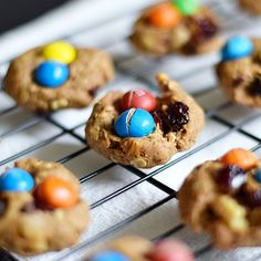 Fill your oven belly and freezer with these trail mix cookies. Save all those m&ms from trick or treating or opt to make a dairy-free version. _________________________________