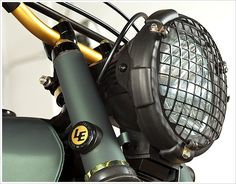 Honda CL450 - LossaEngineering - Pipeburn - Purveyors of Classic Motorcycles, Cafe Racers & Custom motorbikes