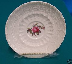 Spode China Saucer Billingsly Rose Pattern | eBay