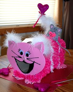 cat valentines day box