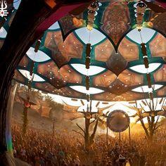 Ozora Festival in Hungary