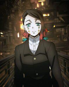 Anime Demon, Manga Anime, Anime Art, Demon Slayer, Slayer Anime, Blue Eye Color, Hxh Characters, Cosplay Anime, Samurai Art