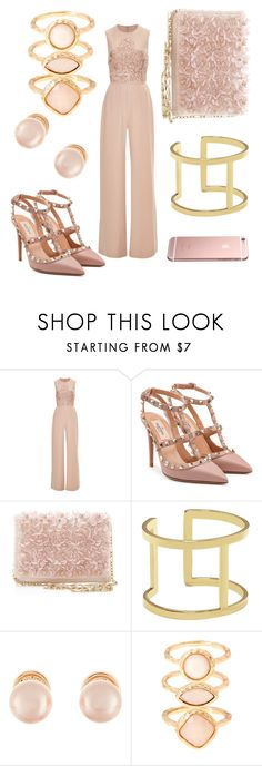 """Untitled #30"" by inaey ❤ liked on Polyvore featuring Elie Saab, Valentino, Oscar de la Renta, Vince Camuto, Kenneth Jay Lane and Monsoon"