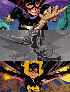 Batgirl Babs, Batgirl Cass, and Batgirl Steph.