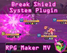 RPG Maker MV plugin to add a Break Shield mechanic