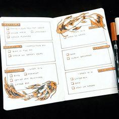 Bullet Journal Titles, Bullet Journal Tracker, Bullet Journal Notebook, Bullet Journal Aesthetic, Bullet Journal Spread, Bullet Journal Inspiration, Mood Tracker, Scrapbook Journal, Instagram