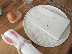 Table de Pâques - Rond serviette