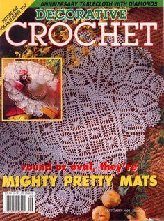 CROCHET DECORATIVO - MARIA DEL ROCIO Mora - Picasa Web Albums...